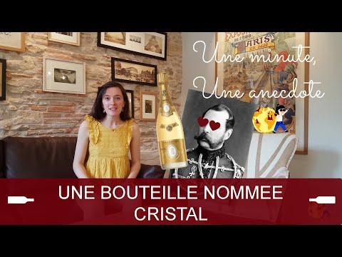 Une minute, une anecdote - Une bouteille nommée Cristal