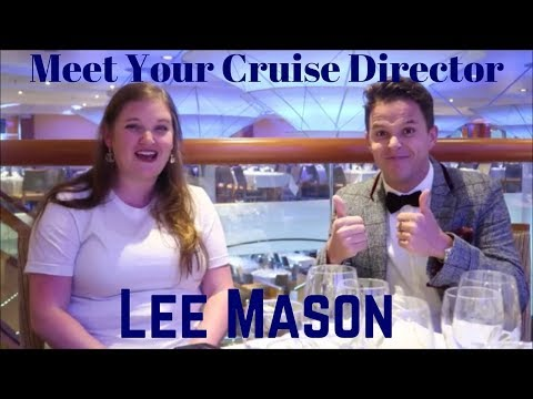 Meet Your Cruise Director Lee Mason On The Carnival Breeze Youtube