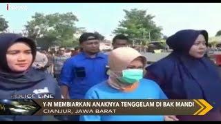 Tega! Seorang Ibu  di Cianjur Bunuh Bayinya Lantaran Kesal Sang Suami Selingkuh - Police Line 29/09