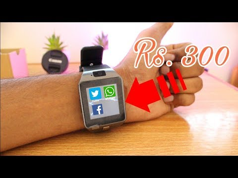 44d3884b2 World s CHEAPEST Smart Watch Phone Only 300 Rupees !!! - YouTube
