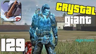 Free Fire: Battlegrounds - Gameplay part 129 - Crystal Giant Squad 19 Kills BOOYAH!🤩(iOS, Android)