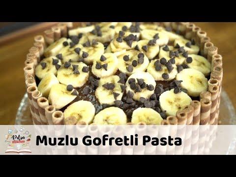 Muzlu Gofretli Pasta Tarifi