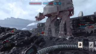 PS4 STAR WARS Battlefront Deluxe Edition Gameplay | TS_MK17