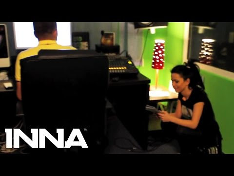 INNA and Play & Win in the studio recording a new track! (April, 2010)