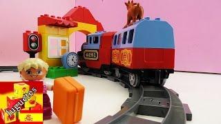 Estación y riel de Lego - Set de Estación de tren (español)