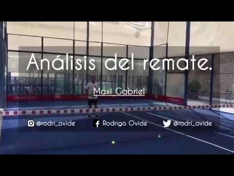 3cf194ec Consejos: REMATE de Potencia de Maxi Grabiel [Padel] - YouTube