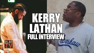 Kerry Lathan on Getting Shot Next to Nipsey Hussle, Police Violating Parole & Facing Life