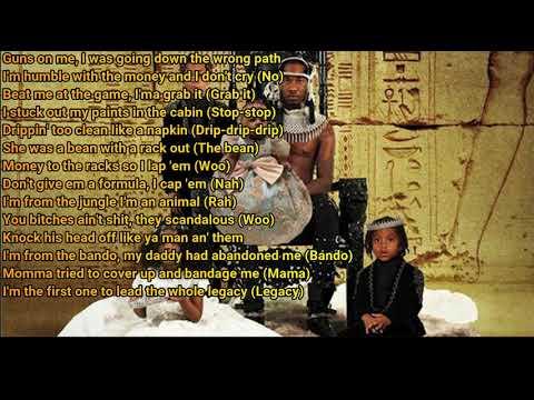 Offset - Legacy ft.Travis Scott & 21 Savage (Lyrics)