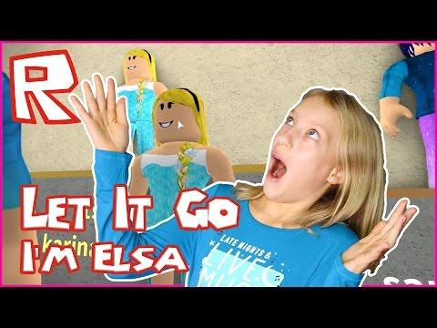 Let it Go, I'm Elsa / Roblox Design IT