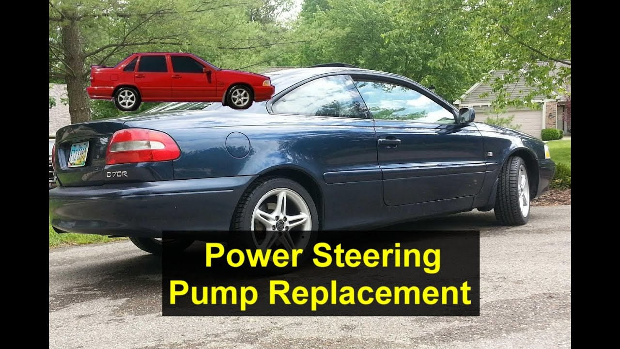 small resolution of volvo s40 electric power steering pump wiring diagram power steering pump replacement volvo c70 s70