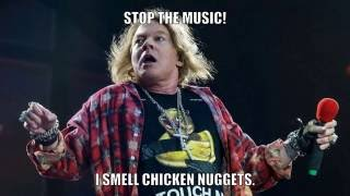 Memes dedicated to fat Axl Rose