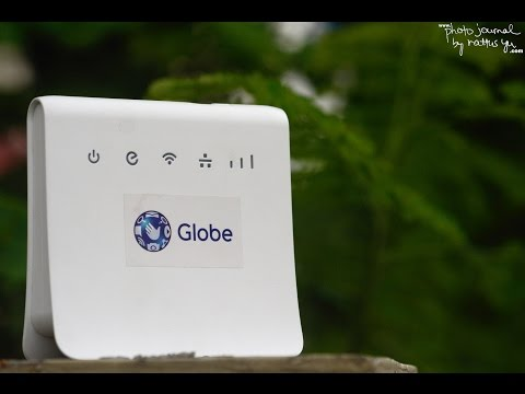 Unboxing: New Globe Prepaid Home Wi-Fi (2017)