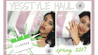 YesStyle SPRING HAUL 2017