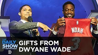 Dwyane Wade Makes Trevor a Member of the Miami Heat | The Daily Show