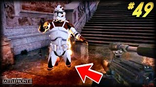 Star Wars Battlefront 2 - Funny Moments #49 (STUCK!)