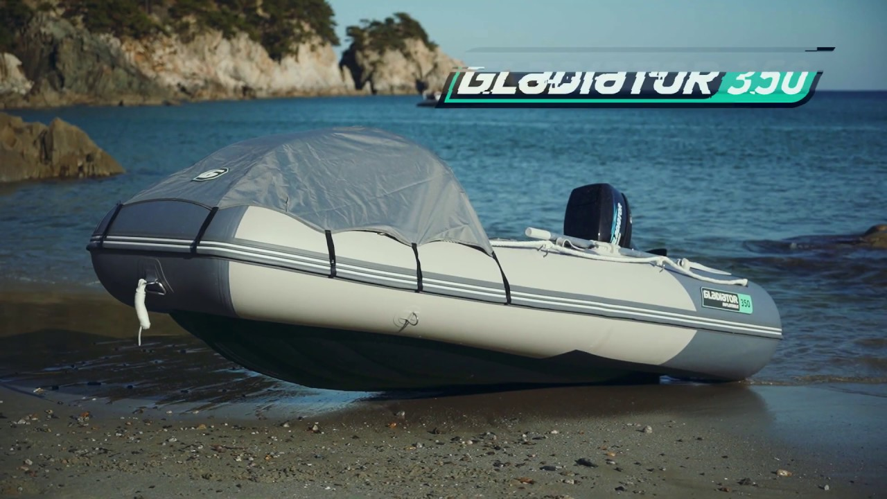 Моторная лодка GLADIATOR 350