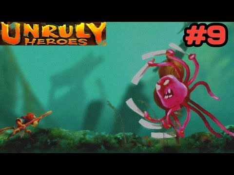 Unruly Heroes !!! Chapter-7 The Crossing !!! Gameplay walkthrough Part-1, Part-2  and Part-3 🔥🔥🔥🔥🔥  