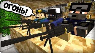 Оборона базы ФБР [ЧАСТЬ 37] Зомби апокалипсис в майнкрафт! - (Minecraft - Сериал)