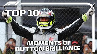 Top 10 Moments of Jenson Button Brilliance