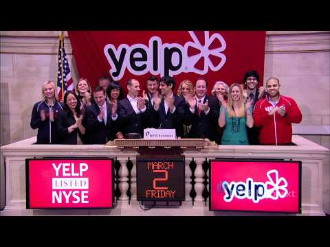 Yelp lists IPO on the NYSE and rings the NYSE Opening Bell