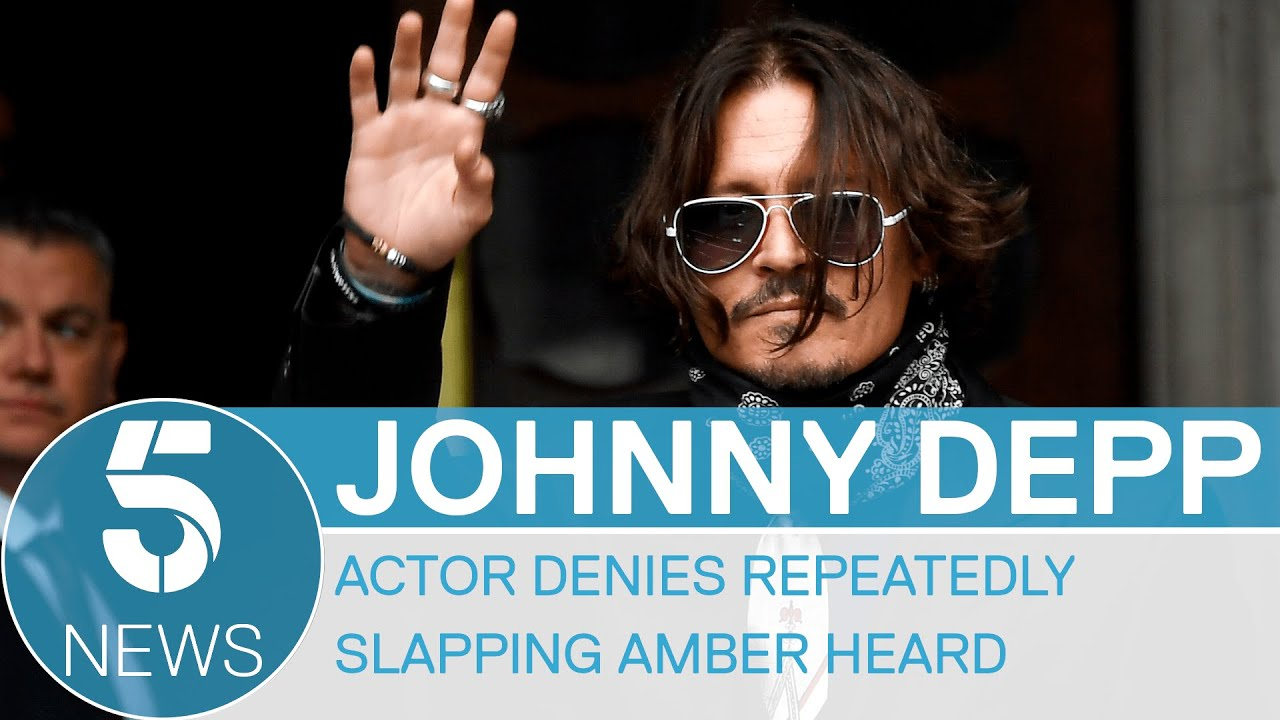 Johnny Depp Denies Slapping Amber Heard Three Times After She ...