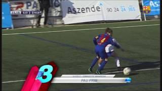 FCB Masia-Academy: Top goals 17-18 december