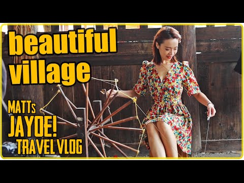 Beautiful Woman in an Old Village in China | Guangxi Vlog