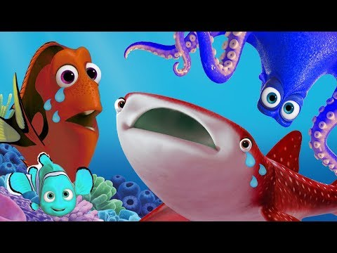 Disney Pixar Finding Dory toys learn colors in English 🌊 Learn your colors Dory fish toddler videos