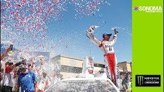 Harvick celebrates first win of the season at Sonoma thumbnail