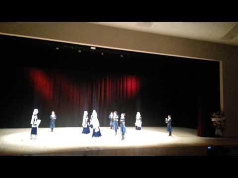 ABAZA-2 (Abhazya Devlet Halk Dansları Çocuk Grubu)  [Beylikdüzü 22.04.2013]