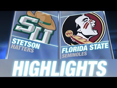 Stetson vs Florida State | 2014-15 ACC Men