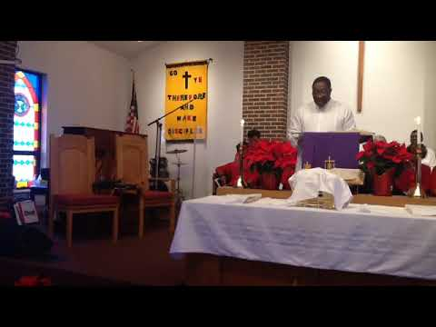 "Rev. Marvin R. Wamble - Sermon: ""In Meantime of Mean Times"""