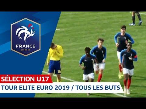 U17, Tour Elite Euro 2019 : Le résumé de la qualification I FFF 2018-2019
