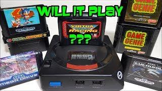 Sega Mega Retron HD by Hyperkin special cartridge tests Everdrive, Game genie & more