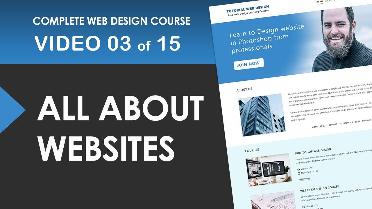 Website types of websites - Free Web Design Course 03