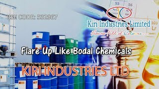 Coming out with flying colours - KIRI INDUSTRIES LTD, BSE Code - 532967