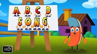 ABC Song - Alphabet Song | HD Nursery Rhymes with Lyrics | Phonics Songs