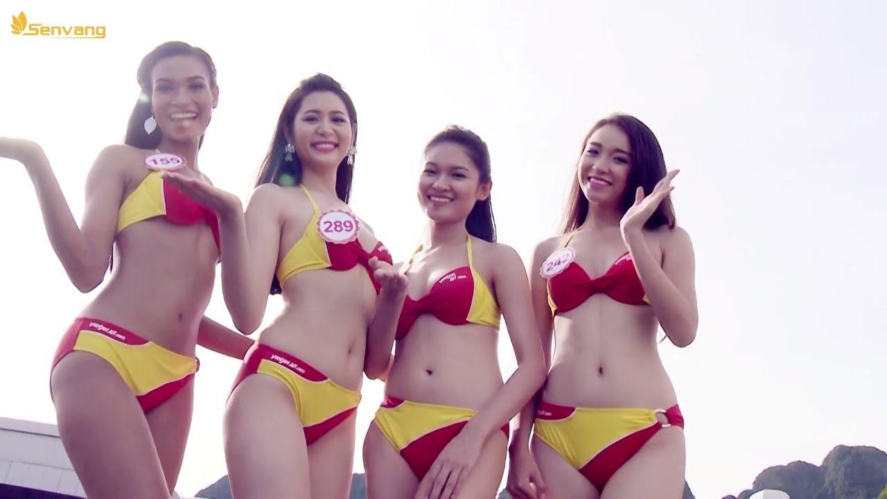 Mãn nhãn với hình thể SEXY NÓNG BỎNG của dàn người đẹp trong phần thi BIKINI | Hoa Hậu Việt Nam