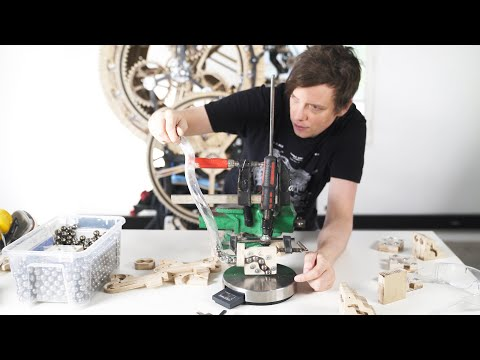 Testing Another Marble Track - Wintergatan