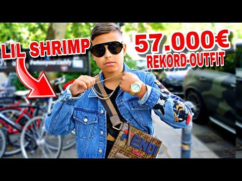 DAS 57.000€ REKORD OUTFIT VON LIL SHRIMP | WIE VIEL IST DEIN OUTFIT WERT | MAHAN