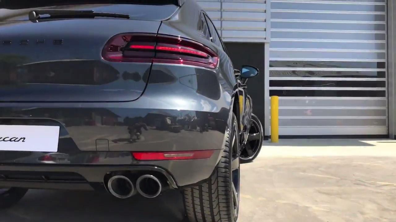 Porsche Panamera 4S >> Macan S in Volcano Grey Metallic | For Sale - YouTube