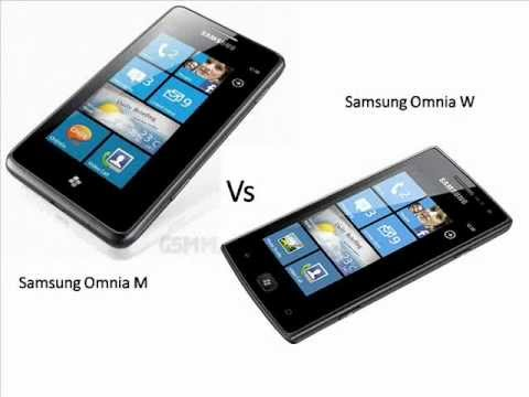 Samsung Omnia M vs Samsung Omnia W features or specification