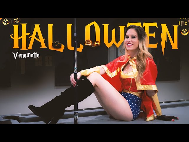 Sexy Halloween 8-Ball Pool Trick Shots by Venomette!!