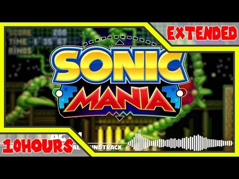 Stardust Speedway Zone Act 1 - Sonic Mania Music Extended 10 Hours