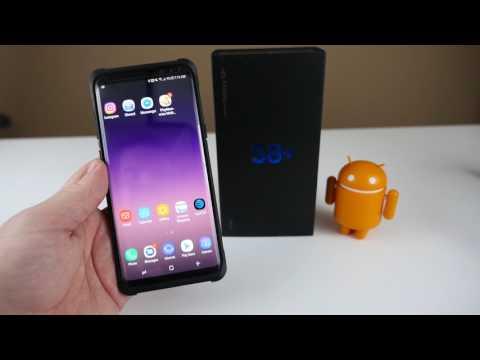 Samsung Galaxy S8 How To Take Screenshots