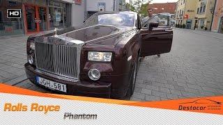 Обзор Rolls Royce Phantom из России в Германии