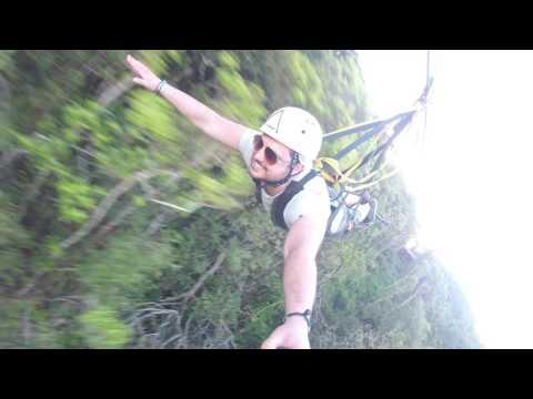 1500 m zipline la Vallee des Couleurs Mauritius