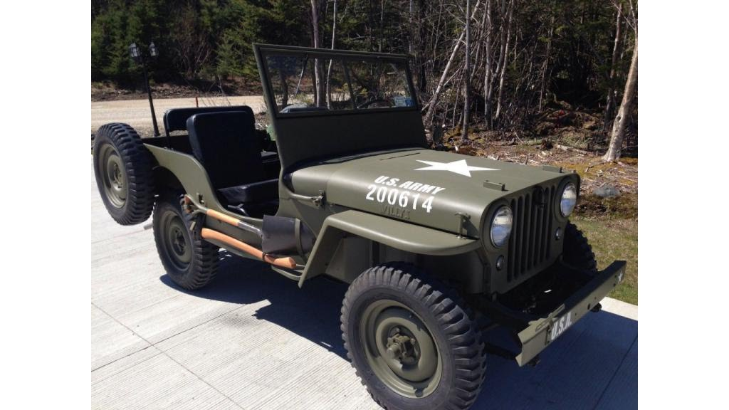1946 Jeep Willys Youtube