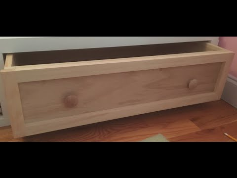 How To Make A Drawer Front You