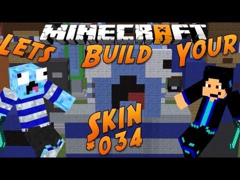 Lets Build Your Minecraft-Skin   [HD/GERMAN]   #034 - LeonFailerLP (Allenamenweck)